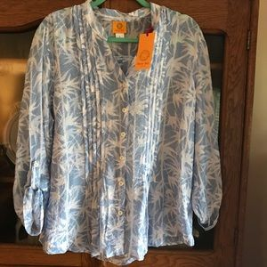 Ruby Rd Blouse new size a Large